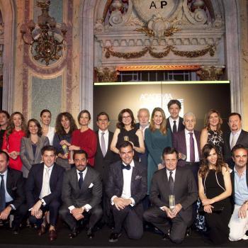 Gala de entrega premios Academia del Perfume