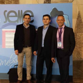 Parte del equipo de BECO MEDICAL en Málaga.