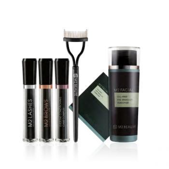 M2 Beauté, productos para fortalecer cejas y pestañas.