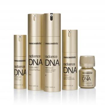 Línea radiance DNA de uso domicialrio