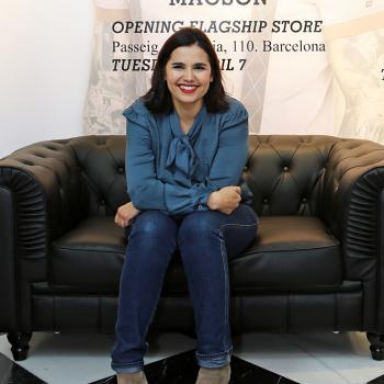 LA periodista Rosario Santa María